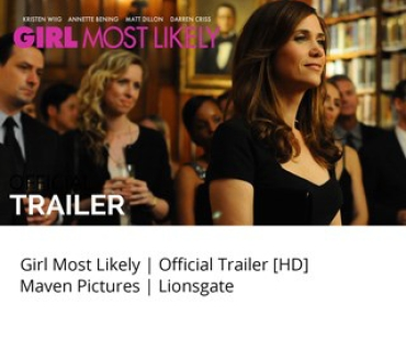 Girl Most Likely Movie Trailer Studio Mao with Kristen Wiig - Studio Mao