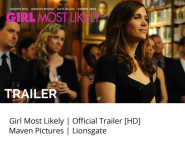 Girl Most Likely Movie Trailer Studio Mao with Kristen Wiig - Studio Mao