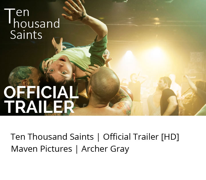 Ten Thousand Saints Movie Trailer Ethan Hawke, Asa Butterfield, Hailee Steinfeld, Studio Mao